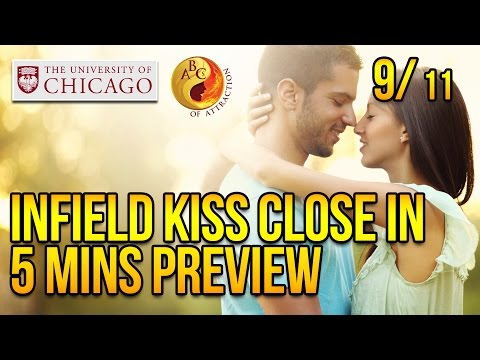 Infield Kiss Close In 5 Minutes Preview At University Of Chicago, Part 9 video