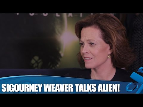 Sigourney Weaver on Alien: Isolation bonus missions!