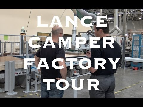 RV Factory Tour: Lance Camper Travel Trailers + Truck Campers