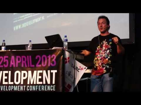 Chris Avellone talks about Kickstarter (Indievelopment 2013, Amsterdam, NL)