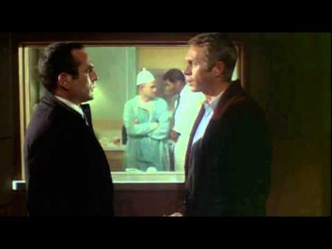 Un patient  sortir, extrait de Bullitt (1968)
