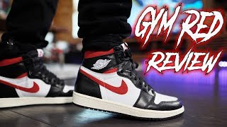 "COP OR NOT ?!? AIR JORDAN 1 ""GYM RED"" REVIEW AND ON FOOT !!!"