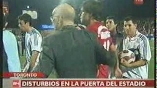 24 Horas Central: Incidentes en Toronto después de la semifinal de la Sub-20 (2007)