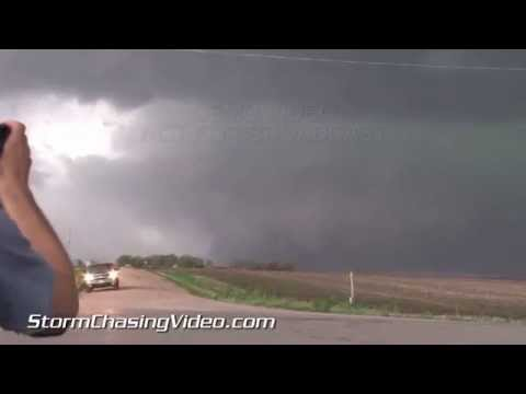 5/11/2014 Exeter to Beaver Crossing, Nebraska Tornadoes B-roll