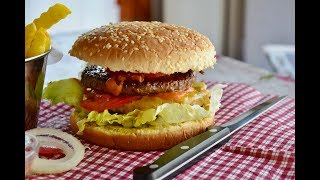 Burger & Fries Dilly Style