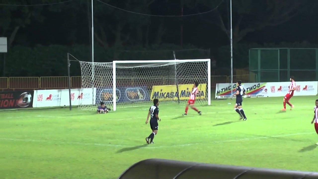 Hougang United FC 4-2 Tanjong Pagar Utd