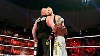 WWE Brock Lesnar vs Big Show vs Rey Mysterio | Brock Lesnar nearly killed Big Show