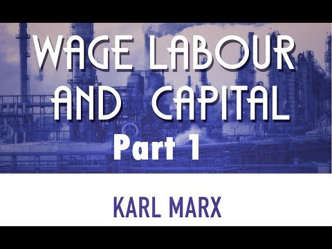 an introduction to the analysis of marxs wage labour and capital The concept of use-value was also undergoing development at the early stage of marx's introduction to political economy as with the labor theory of value, marx's initial.