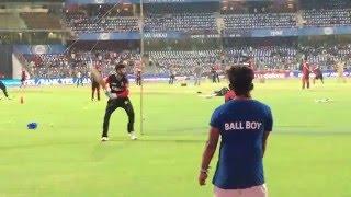 Virat Kohli Practising at Wankhede Stadium