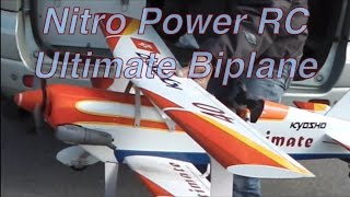 Nitro Power Ultimate Biplane@HK Kai Tak RC airport