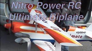 Nitro Power Ultimate Biplane@HK Kai Tak RC airport