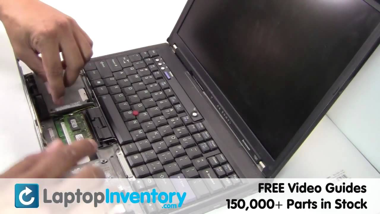 Ibm Lenovo T60 T61 Ram Memory Replacement Upgrade Install