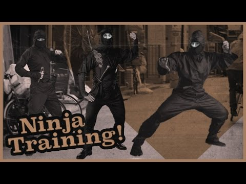 Trent McClung, Dane Burman & Paul Hart - Ninja Training