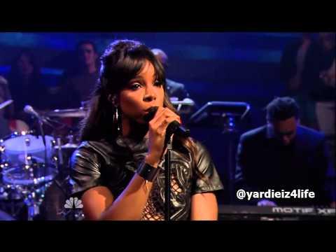Kelly Rowland - Gone Live at Jimmy Fallon ft Wiz Khalifa