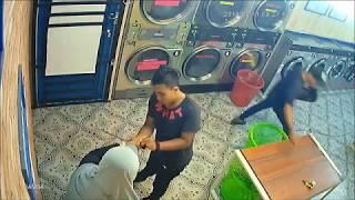 Kes samun di kedai dobi dan kedai runcit menggunakan parang