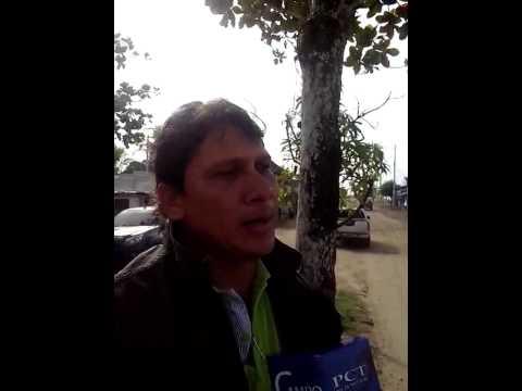Habitantes de Chibolo Magdalena denuncian el mal estado de las vías