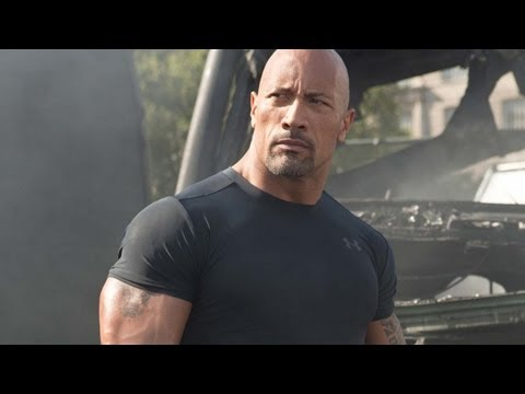 Fast & Furious 6 Cast: The Rock's Arms Are As Big As...