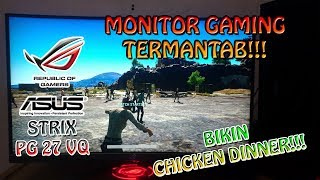 CHICKEN PAKE MONITOR BARU ASUS ROG !!! - PlayerUnknown's Battlegrounds Indonesia
