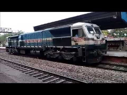 Compilation of Diesel and Electric Lite Locos...!!!