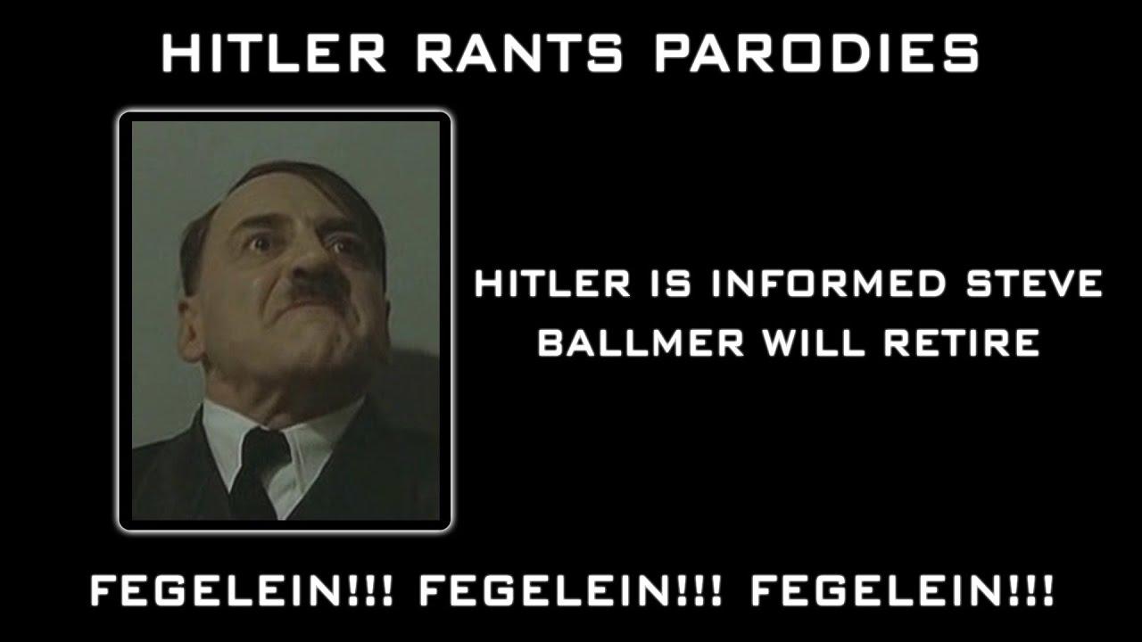 Hitler is informed Steve Ballmer will retire