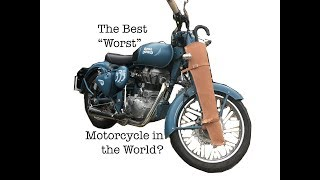 """The Best """"Worst"""" Motorcycle in the World? Royal Enfield Classic 500 Motovlog Review"""