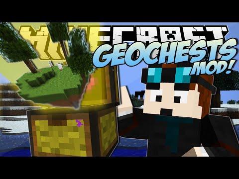 Minecraft GEOCHESTS MOD World Eating Chests Mod Showcase