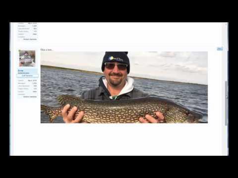 Image Upload, Canadian Fishing Forum