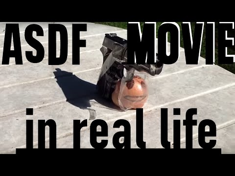 Asdf Movie 1,2,3,4,5,6 And 7 In Real Life video