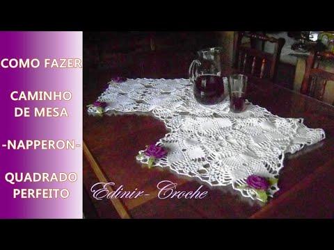 CAMINHO EM CROCHE NAPPERON