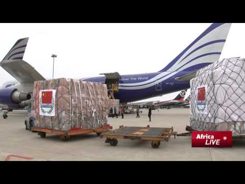 China Ebola Relief:  4th Shipment of Supplies Heads to West Africa