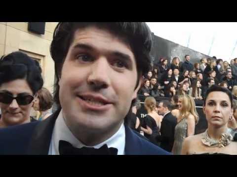 "Oscars 2012 Red Carpet: ""Margin Call"" Director JC Chandor"