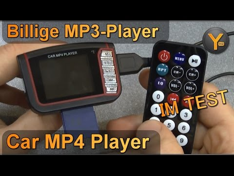 Billig MP3-Player im Test: Car MP3/MP4/JPG Player mit SD-Karte