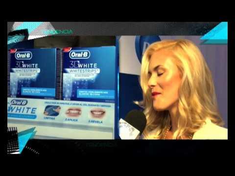 Lanzamiento de Oral B 3D White / Tendencia 2013