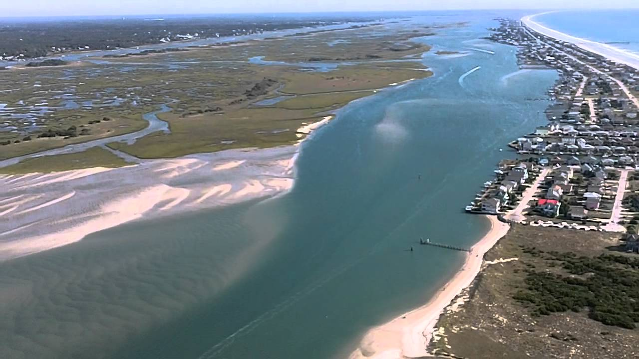 South end of topsail island nc 10 8 11 youtube for Topsail island fishing