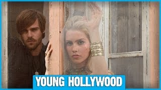 AQUARIUS's Claire Holt & Grey Damon on Working with David Duchovny!