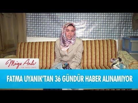 Fatma Uyanık'tan 36 gündür haber alınamıyor! - Müge Anlı İle Tatlı Sert 10 Kasım