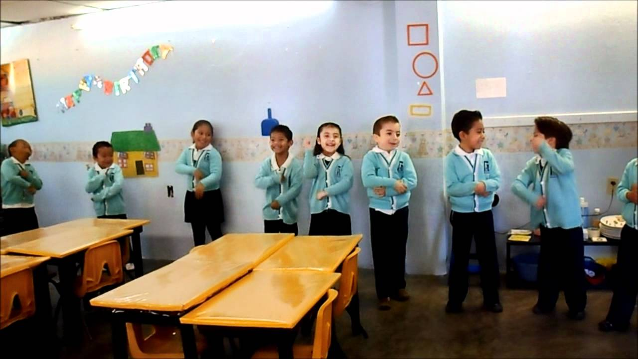 EASC Clase Abierta 2do Preescolar Ingles 03 - YouTube