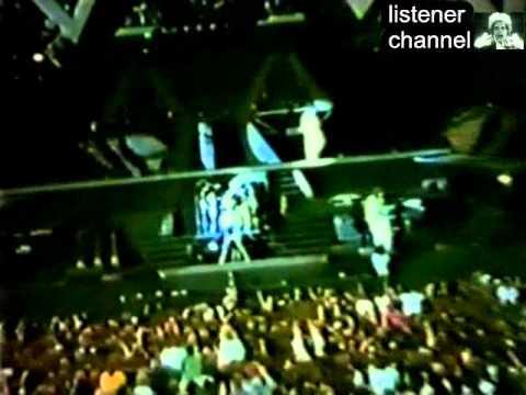 Queen - Live In Manchester 1986 part 8 - Radio Ga Ga