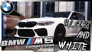 Rdesign: BMW M5 Competition | Black Beauty goes White Beast 💪