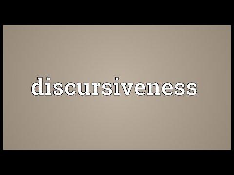 Header of discursiveness