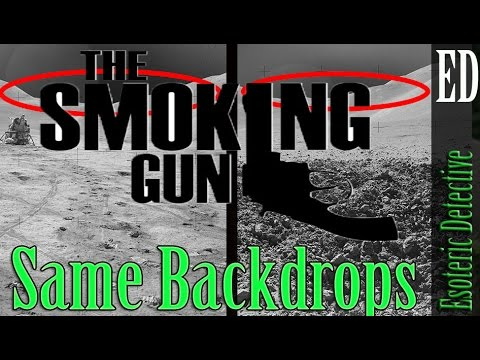 The Smoking Gun that NASA's pictures of the moon-landings were fake   #MoonHoax  