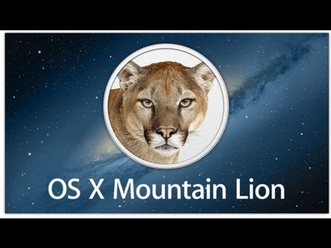 Install Mac OS X 10.8 Mountain Lion On PC