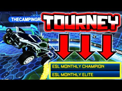 ESL MONTHLY ELITE HERE WE COME!! ( Semi Pro Rocket League Tournament )