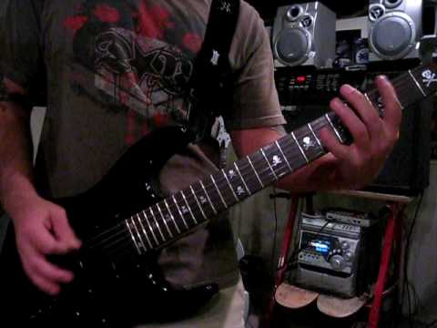 &quot;Descending&quot; Lamb of God demonstration feat. Joe Bennett