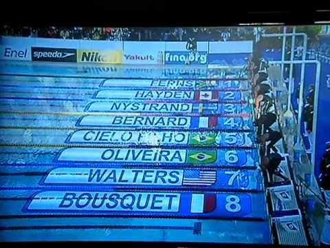 Cesar Cielo Filho World Record Cesar Cielo