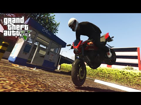 CRAZY BACKWARDS STUNT! - (GTA V Stunts & Fails)