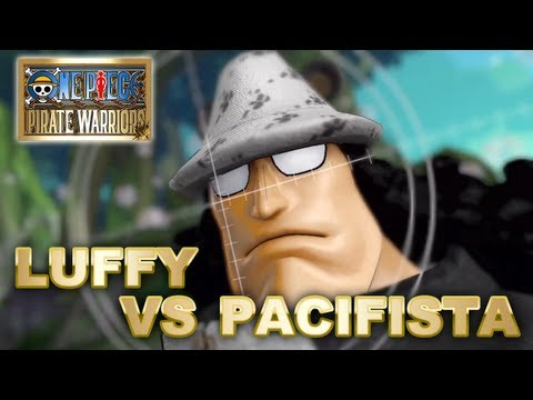 One Piece: Pirate Warriors - PS3 - Luffy vs Pacifista