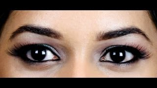 TUTORIAL: Indian, Arabic Eyeliner for Hooded Eyelids