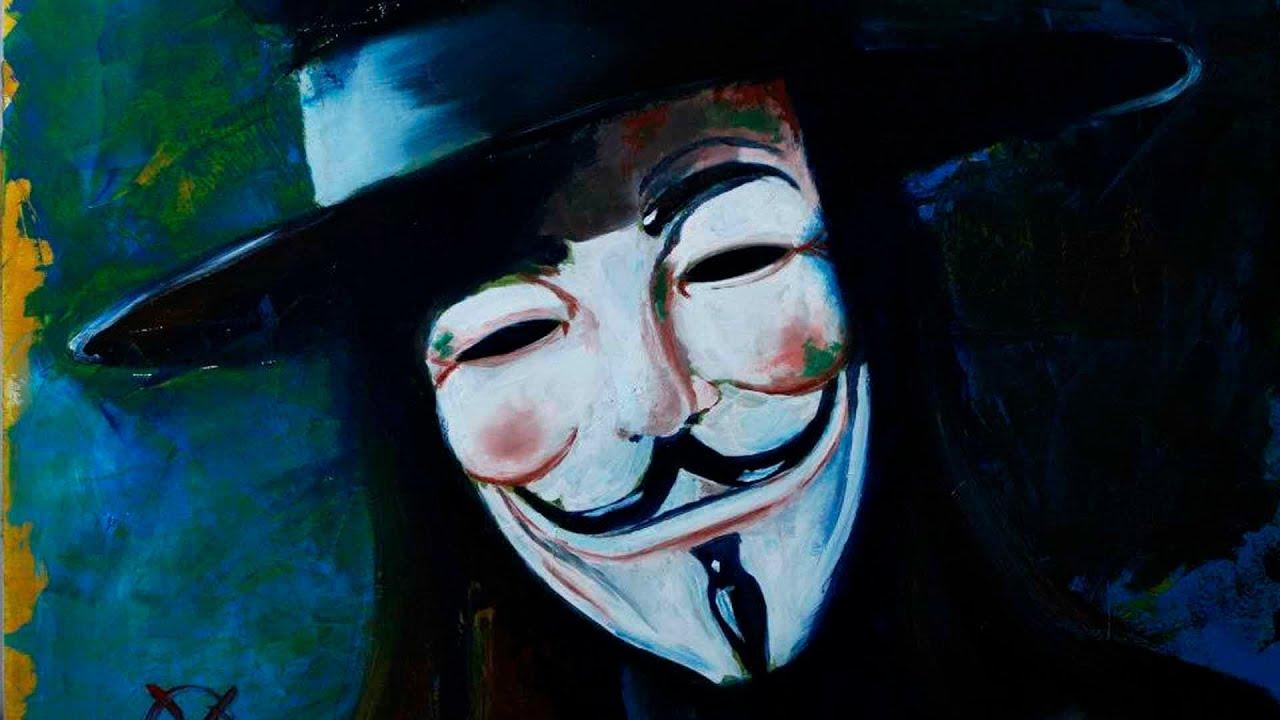 V For Vendetta Painting maxresdefault jpg