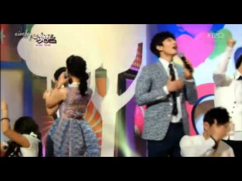 130412 New MC 2AM Jinwoon and Park Se Young special Stage